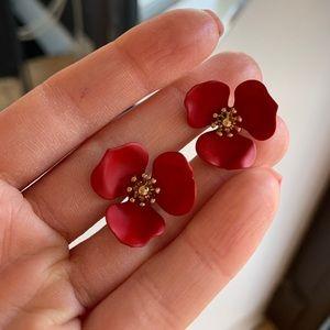 Anthropologie Jewelry - Anthropologie Flower Earrings